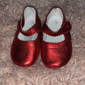 Red Gucci Mary Janes